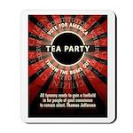 Thomas Jefferson Tea Party Mousepad
