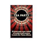 Thomas Jefferson Tea Party Magnets