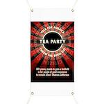 Thomas Jefferson Tea Party Banner