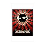 Thomas Jefferson Tea Party Sticker