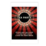 Thomas Jefferson Tea Party Postcards (Package of 8