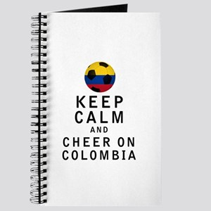 Keep Calm and Cheer On Colombia Journal