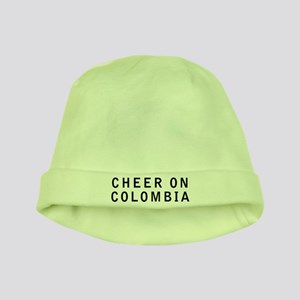 Keep Calm and Cheer On Colombia baby hat