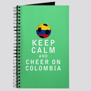 Keep Calm and Cheer On Colombia FULL Journal