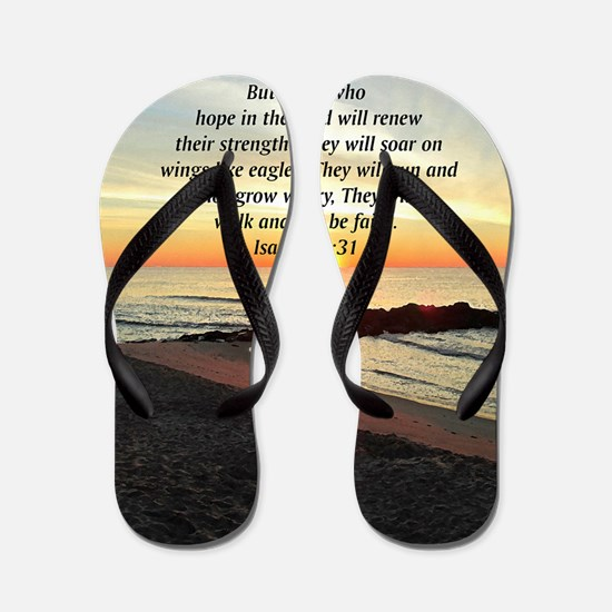 ISAIAH 40:31 Flip Flops