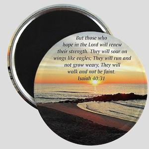 ISAIAH 40:31 Magnet