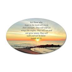 ISAIAH 40:31 Wall Sticker