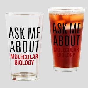 Molecular Biology Drinking Glass