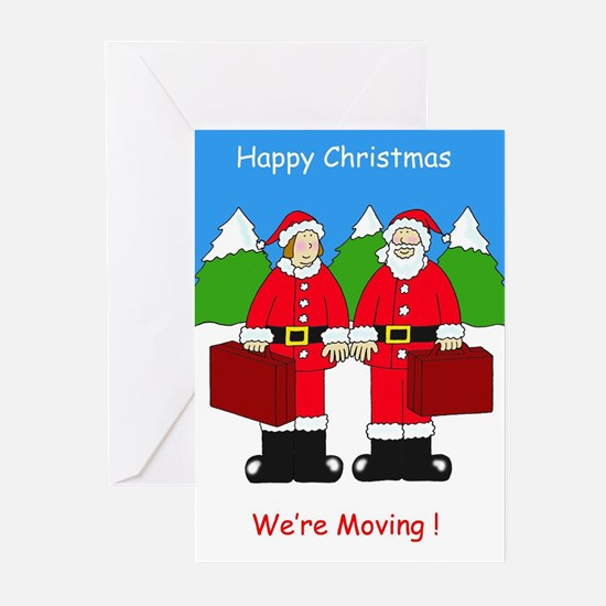 We're moving change of address Greeting Cards