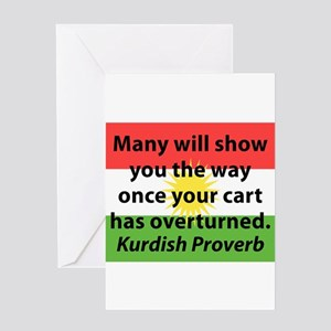 Many Will Show You The Way Greeting Cards