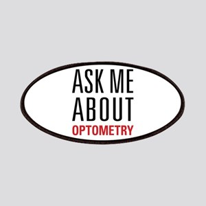 Optometry - Ask Me About - Patches