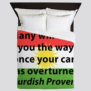 Many Will Show You The Way Queen Duvet