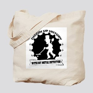 Diggin Up History Tote Bag