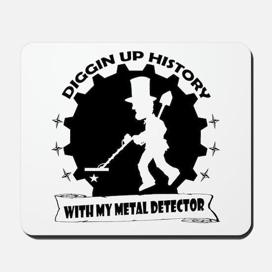Diggin Up History Mousepad
