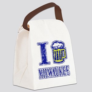 ilovemilwauk Canvas Lunch Bag