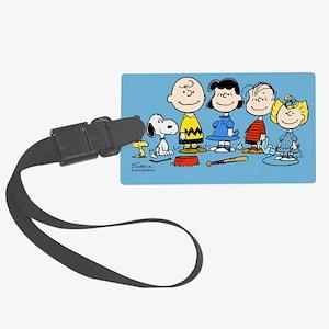 The Peanuts Gang Large Luggage Tag