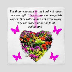 ISAIAH 40:31 Queen Duvet