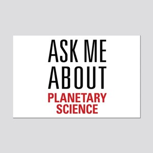 Planetary Science Mini Poster Print