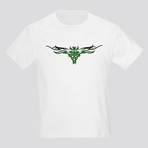 Tribal Thistle Kids Light T-Shirt