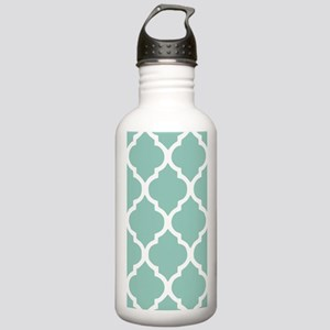 Aqua Chic Moroccan Lat Stainless Water Bottle 1.0L