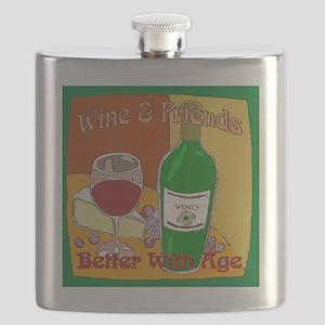 Friends Wine Flask
