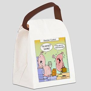 Bladder Control Nut Canvas Lunch Bag