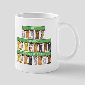 Happy Christmas to a wonderful carer. Mugs