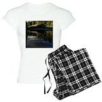 Eel River Reflection Scene Pajamas