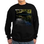 Eel River Reflection Scene Sweatshirt