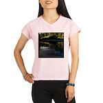 Eel River Reflection Scene Performance Dry T-Shirt