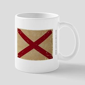Alabama State Flage VINTAGE Mugs