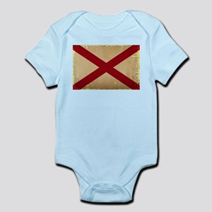 Alabama State Flag VINTAGE Body Suit