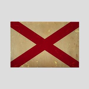 Alabama State Flag VINTAGE Magnets