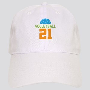 Volleyball player number 21 Cap