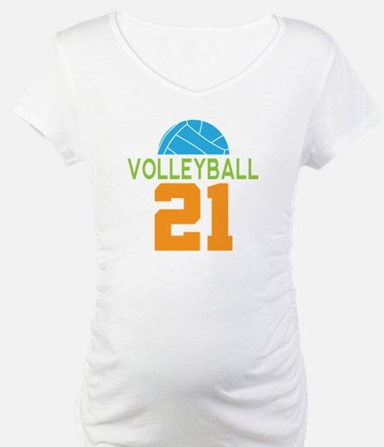 Volleyball player number 21 Shirt