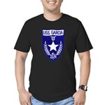 USS GARCIA Men's Fitted T-Shirt (dark)