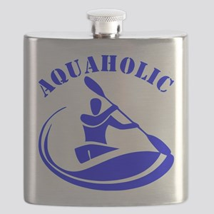 Aquaholic Kayak Guy Flask