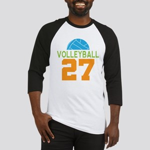 Volleyball player number 27 Baseball Jersey