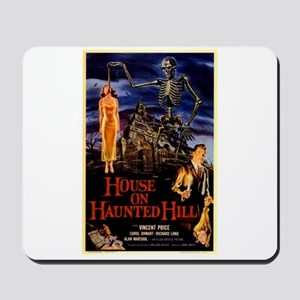 house on haunted hill Mousepad