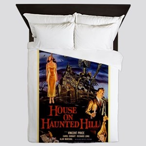 house on haunted hill Queen Duvet