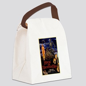 house on haunted hill Canvas Lunch Bag