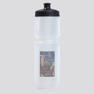 house on haunted hill Sports Bottle