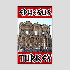 Ephesus Turkey Rectangle Sticker