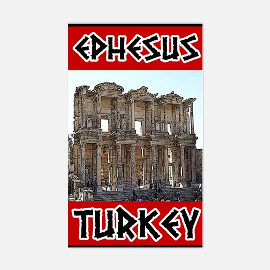 Ephesus Turkey Rectangle Decal