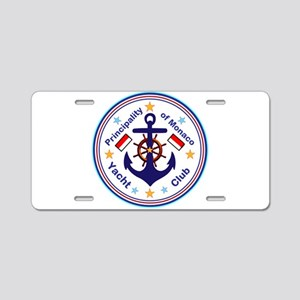 Monaco Yacht Club Aluminum License Plate