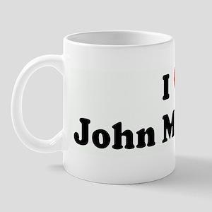 I Love John Medeiros Mug