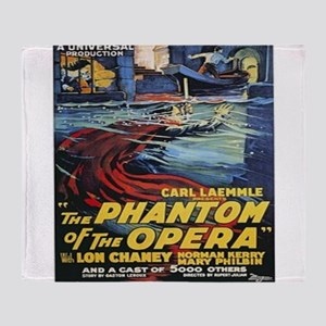 the phantom of the opera Throw Blanket