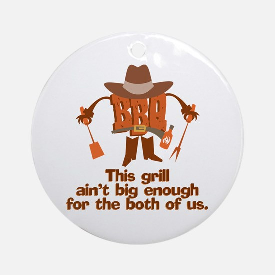 BBQ Gifts & T-shirts Ornament (Round)
