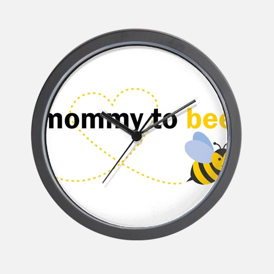 Mommy To Bee Wall Clock