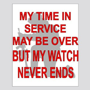 My Watch Never Ends 3 Small Poster